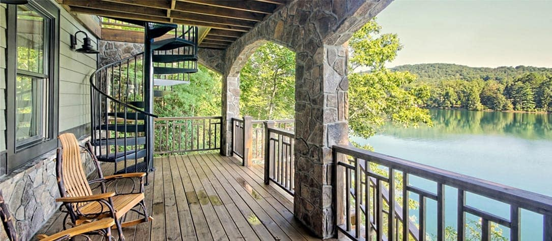 Improve your home with a spiral staircase paragon stairs - Spiral staircase exterior aluminum ...