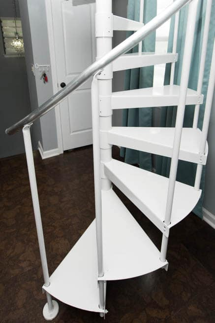 Steel Spiral Stair Kit Gallery Paragon Stairs