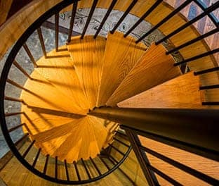 steel spiral staircase product options