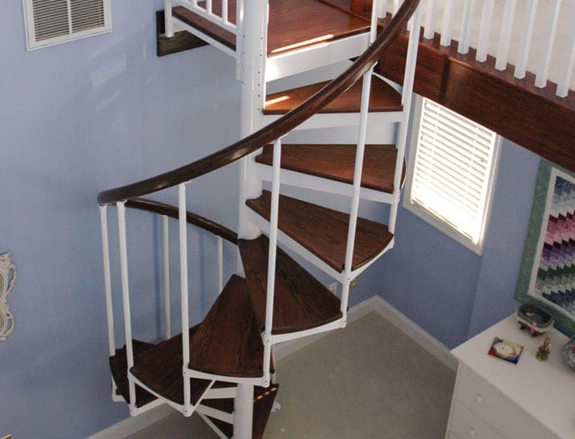The bethel spiral stair affordable beauty and function for Build your own spiral staircase