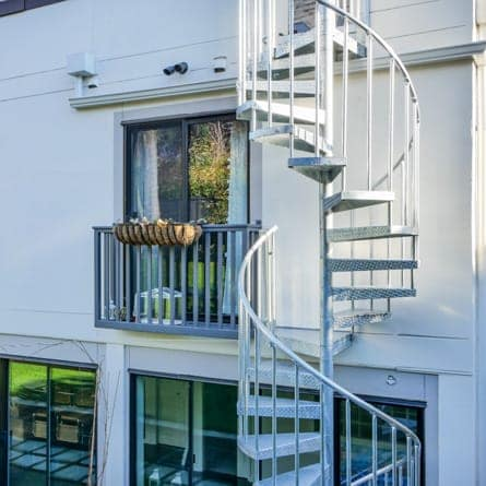 Durable Multistory Deck Spiral Staircase Seattle