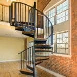 city condo spiral staircase