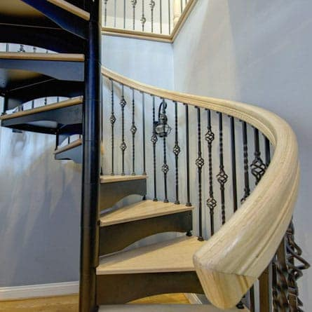 Add Victorian Style With The Westminster Spiral Staircase