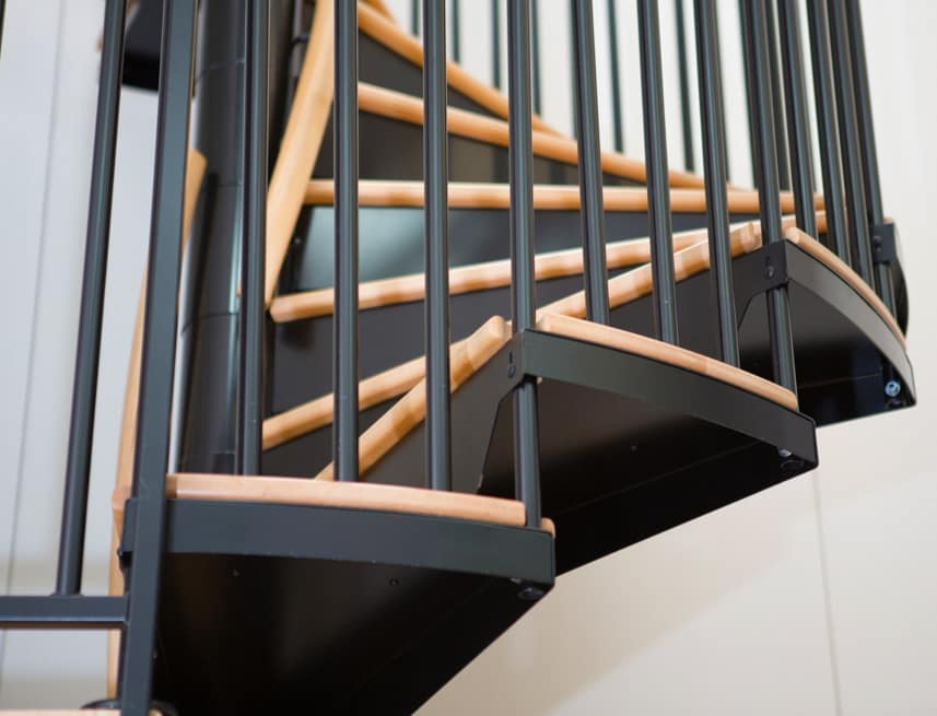 code compliant resting platforms interior office stair