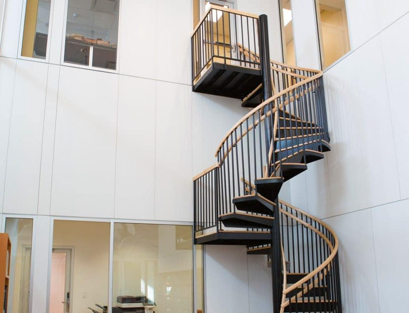 nfl hall of fame office spiral staircase
