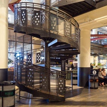 Ponce City Market Atlanta Spiral Staircase