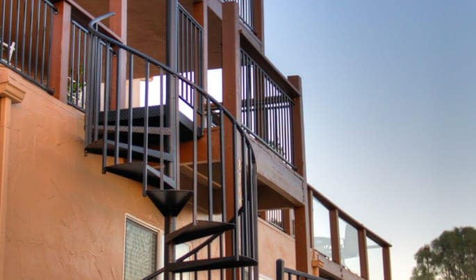 The vista spiral stair find the perfect addition for for Build your own spiral staircase