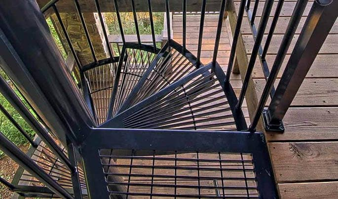 safety-the-retreat=spiral-stair