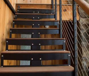 In Stock Components Makes It Easy To Satisfy Short Lead Times Too. The  All Steel Frame Makes This Stair Versatile Enough To Match A Wide ...