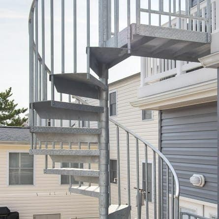 Maintenance Free Beach House Stair