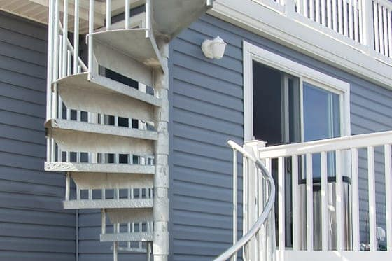 galvanized spiral staircase kit
