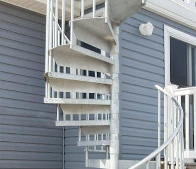 galvanized spiral staircase kit gallery