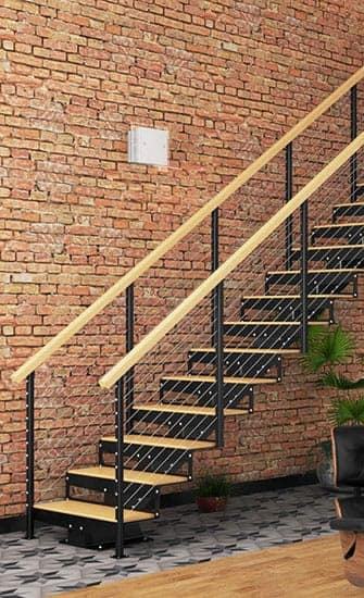 floating stair kits traditional design