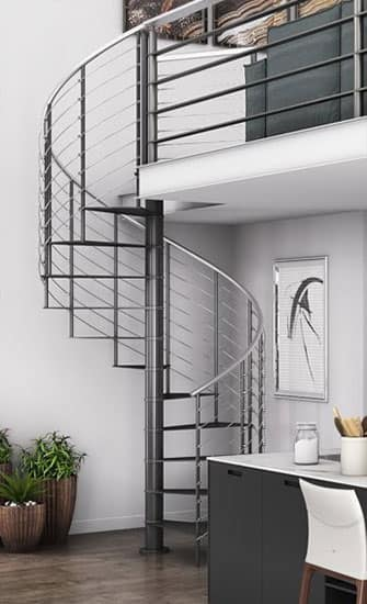 DIY Spiral Staircases