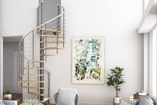 spiral staircase kits contemporary