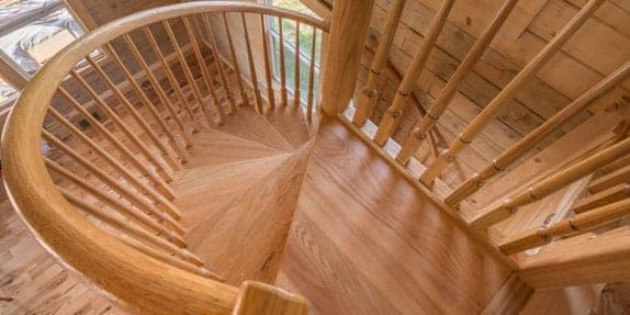 timber-spiral-staircase