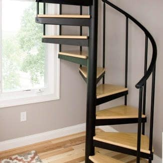 Spiral staircases for every space paragon stairs for Stair designer online