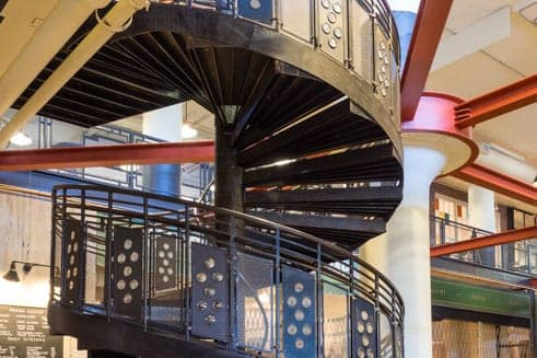 Commercial stairs code compliant staircases for businesses - Commercial interior design codes ...