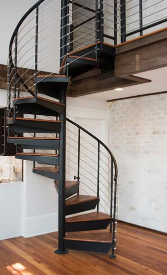 Space Saving Spiral Staircases