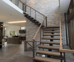 custom mono stringer stair