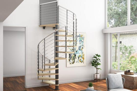 configurable spiral stair kit
