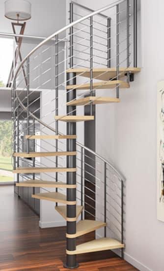 circular stairs diy kit